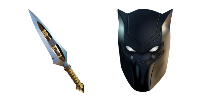 Fortnite Black Panther and Vibranium Daggers