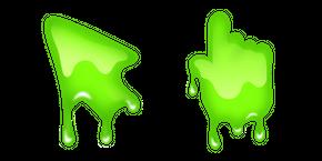Курсор Зеленая Слизь
