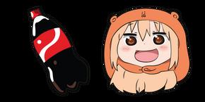 Курсор Himouto! Umaru-Chan Истинная Умару Дома и Кола