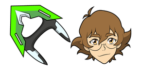 Voltron Pidge and Bayard Curseur