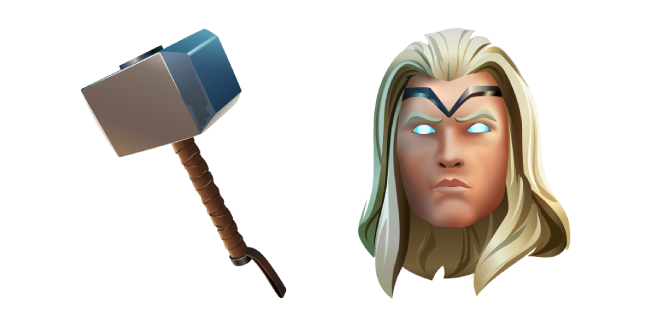 Fortnite Thor and Mjolnir