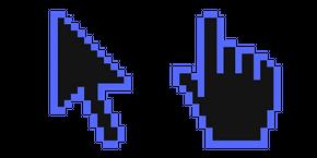 Курсор Dodger Blue Pixel