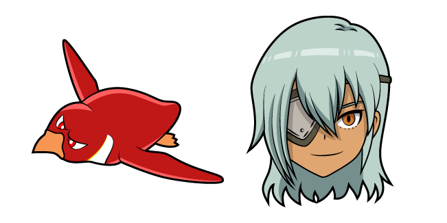 Inazuma Eleven Sakuma Jirou and Koutei Penguin 1gou