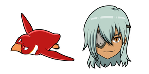 Inazuma Eleven Sakuma Jirou and Koutei Penguin 1gou Curseur