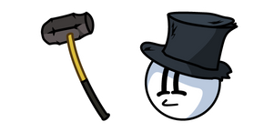 Henry Stickmin Sledge MacRush and Sledgehammer Cursor