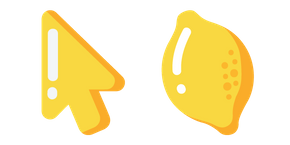 Курсор Минимальный Лимон