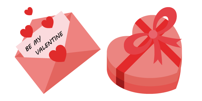 Valentine's Day Card and Candy