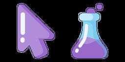 Minimal Laboratory Flask Cursor