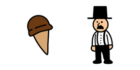 Fancy Pants Adventures Mayor and Ice Cream Cursor