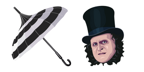 Oswald Cobblepot and Umbrella Cursor