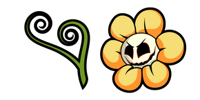 Undertale Flowey Possession Cursor