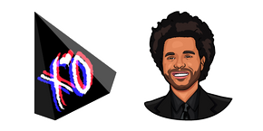 The Weeknd Cursor