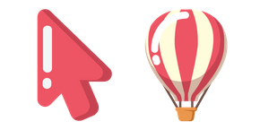 Minimal Hot Air Balloon Cursor