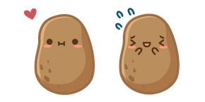 Cute Potato Cursor