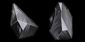 Obsidian Crystal Cursor
