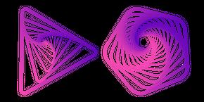 Artistic Geometric Shape Cursor