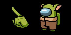 Among Us Baby Yoda Character Cursor