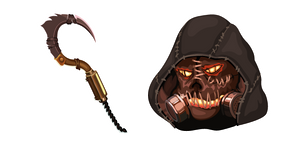 Scarecrow and Sickle Cursor