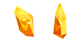 Yellow Citrine Crystal Cursor