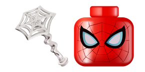 LEGO Spider-Man and Web Cursor
