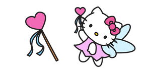 Hello Kitty and Magic Wand Curseur