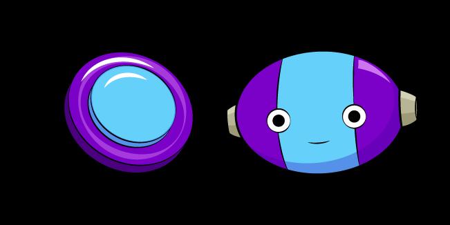 Dragon Ball Zeno and Button