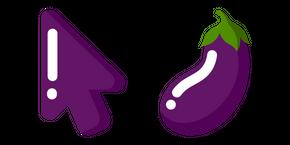Minimal Eggplant Curseur