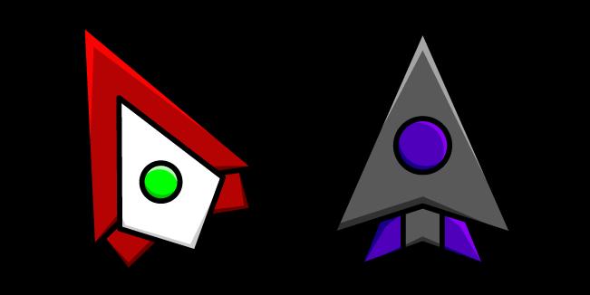 Geometry Dash Icon Kit Wave