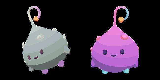 Ooblets Plob and Gleamy Plob