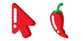 Minimal Chili Pepper Cursor
