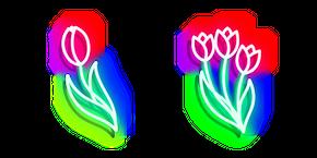 Neon Tulip Curseur