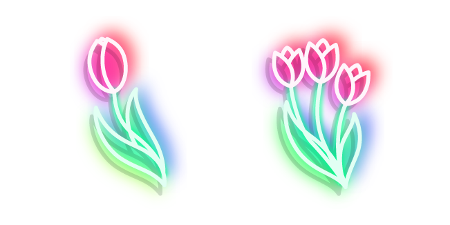 Неоновый Тюльпан