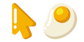 Minimal Fried Egg Cursor