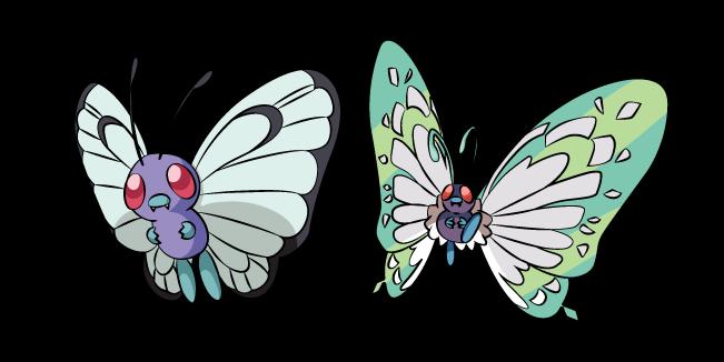 Pokemon Butterfree and Gigantamax Butterfree