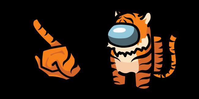Among Us Tiger Character