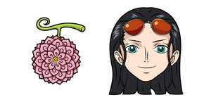 One Piece Nico Robin and Hana Hana no Mi Cursor