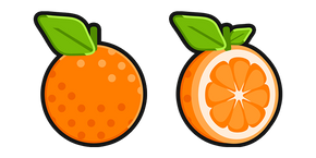 Orange Fruit Cursor