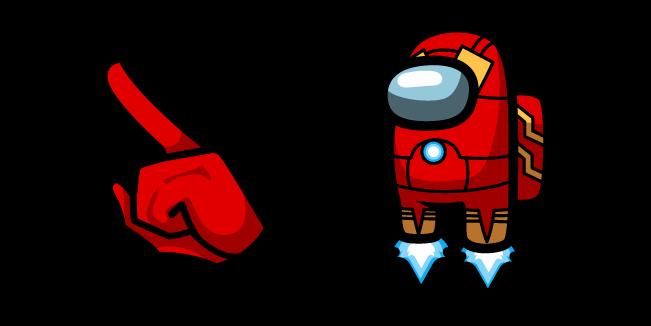 Among Us Iron Man Character