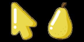 Minimal Pear Curseur