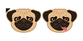 Funny Pug Dog Cursor
