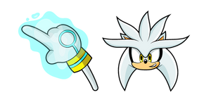 Sonic Silver the Hedgehog Curseur