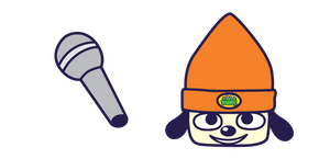 PaRappa the Rapper and Microphone Curseur