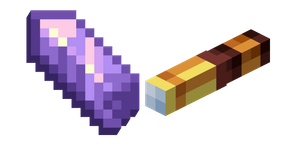 Minecraft Amethyst Shard and Spyglass Cursor