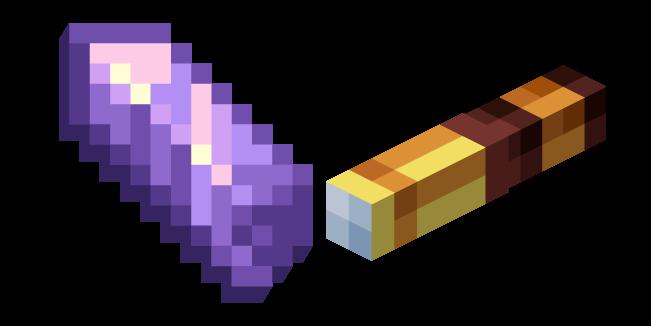 Minecraft Осколок Аметиста и Подзорная Труба