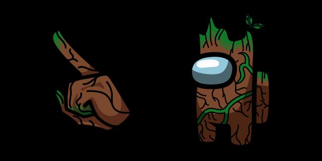 Among Us Groot Character