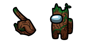 Among Us Groot Character Curseur