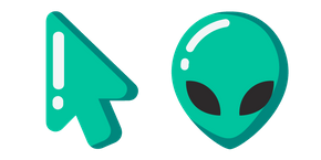 Minimal Alien Cursor