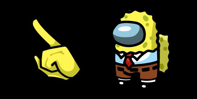 Among Us SpongeBob Character