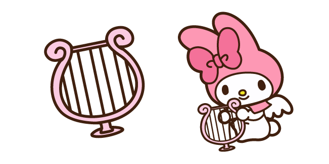 My Melody and Harp
