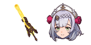 Genshin Impact Noelle and Unforged Cursor